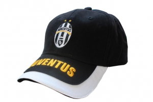 Casquette Adulte Equipe Juventus de Turin Noir Supporter Football HOLIPROM