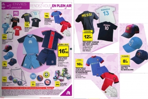 Catalogue-auchan-GSA-parution-fc-barcelone-lionel-messi-neymar-jr-football-soccer-sport-holiprom