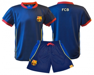 MiniKit Enfant Maillot + Short Supporter Football FC Barcelone Holiprom