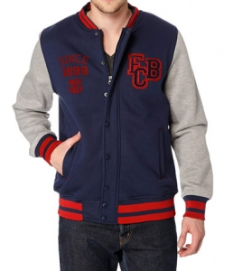 Veste Adulte FC Barcelone Mes que un club Supporter Football HOLIPROM