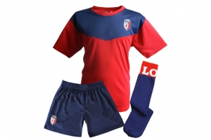 Mini-Kit Enfant Maillot + Short Supporter Football Equipe LOSC HOLIPROM