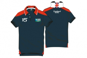 Polo Manches Courtes Rugby World Cup 2015 Logo HOLIPROM
