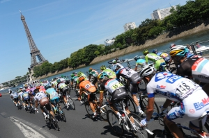 Le Tour de France à Paris
