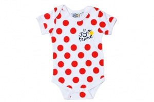Body Bebe Maillot Pois Tour de France Cyclisme HOLIPROM