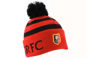 Bonnet Adulte Equipe Stade Rennais FC Supporter Football HOLIPROM