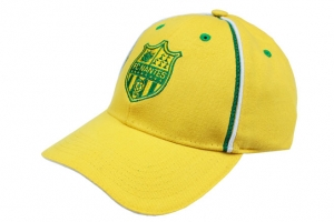 Casquette Adulte Football Supporter Equipe FC Nantes Jaune HOLIPROM