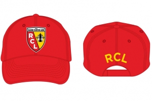 Casquette Adulte Equipe Rc Lens Supporter Football HOLIPROM