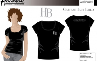 chateau-haut-bailly-t-shirt-partenaire-co-branding-b2B-holiprom