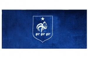 Drap de Bain Fédération Française de Football Supporter HOLIPROM