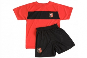Mini-Kit Enfant Maillot + Short Equipe Stade Rennais FC Supporter Football HOLIPROM