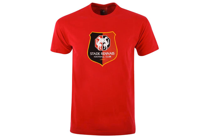 T-Shirt Adulte Equipe Stade Rennais FC Supporter Football HOLIPROM